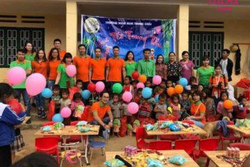 Trải nghiệm trung thu sớm cho trẻ em vùng cao cùng đoàn thiện nguyện nhãn hàng Isilax Bimbi